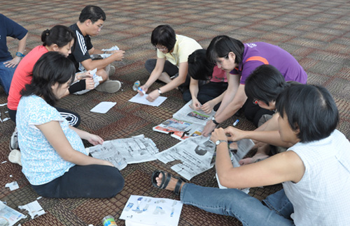 Indoor Team Building | Dynamite Productions | Conceptualization of ...