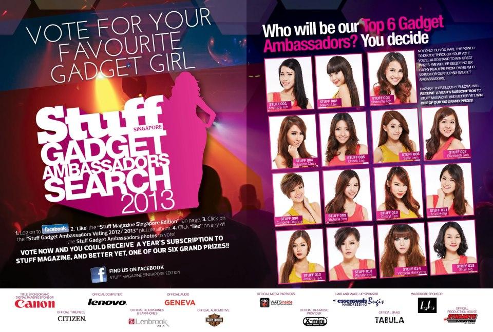 Stuff Magazine 2013 gadget girls 20...